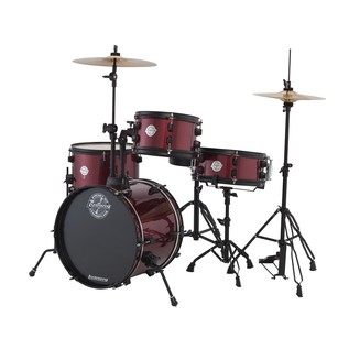 Ludwig Pocket Kit By Questlove, Wine Red Sparkle with Free Lessons