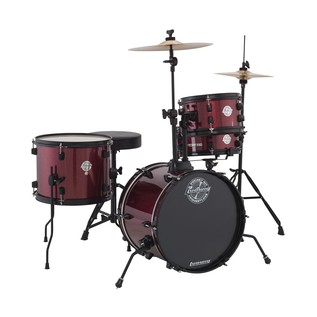 Ludwig Pocket Kit By Questlove, Wine Red Sparkle