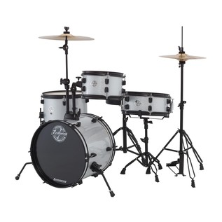 Ludwig Pocket Kit By Questlove, White Sparkle with Free Lessons