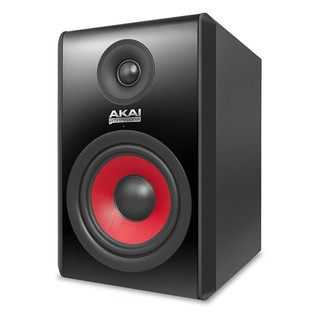 Akai RPM 500 Active Studio Monitor, Black (Single) - Angled
