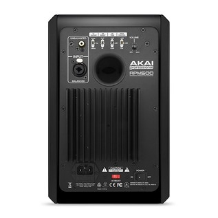 Akai RPM 500 50-Watt Active Studio Monitor - Rear