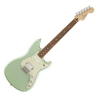 Fender Duo Sonic HS Electric Guitar, Pau Ferro, Surf Green