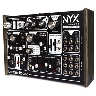 Dreadbox Nyx Paraphonic Analog Synthesizer - Angled
