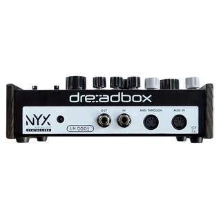 Dreadbox Nyx Semi Modular Synthesizer - Rear