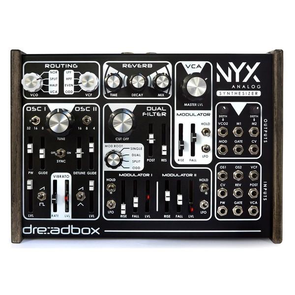 Dreadbox Nyx Analog Synthesizer - Top