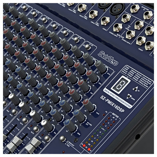 SubZero 600W Powered DSP Mixer by Gear4music