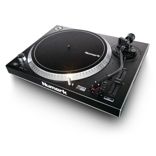 Numark NTX1000 Direct Drive Turntable - Angled