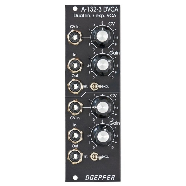 Doepfer A-132-3V Dual Linear/Exponential VCA, Vintage Edition 1