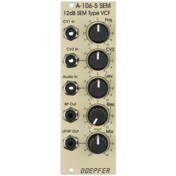 Doepfer A-106-5 12dB SEM Filter, Special Edition Creme 1