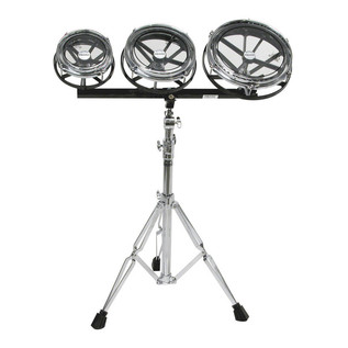 Remo 8, 10 and 12 Inch Rototom Set With Stand