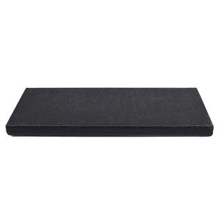 Ruach Black Tolex Pedal Board Size 1