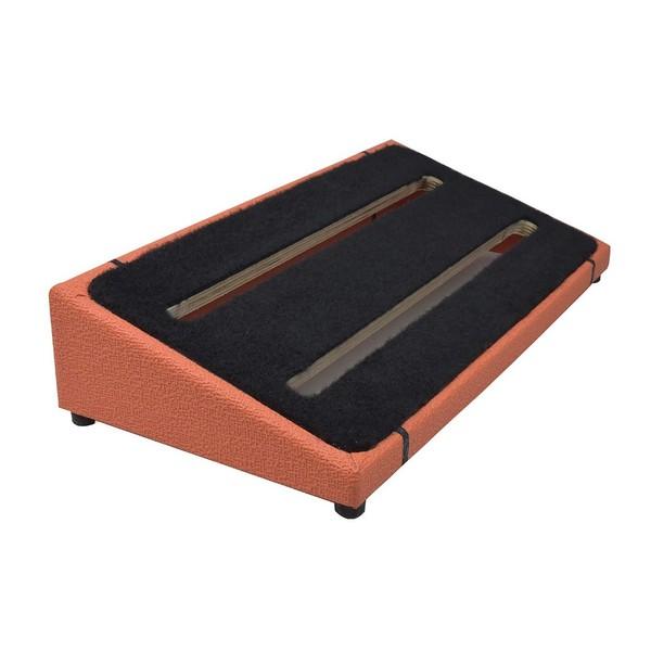 Ruach Orange Tolex Pedal Board