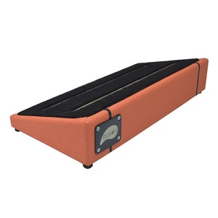 Ruach Orange Tolex Pedal Board Size 2
