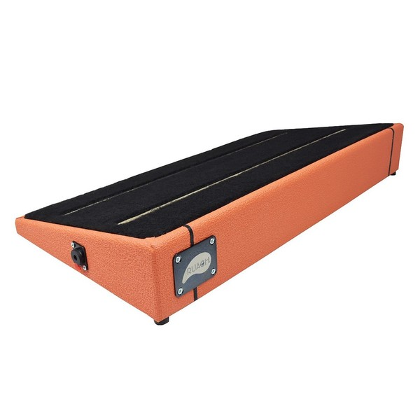 Ruach Orange Tolex Pedal Board Size 3
