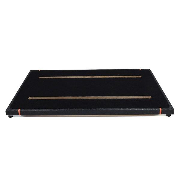 Ruach Black Tolex 3 Pedal Board