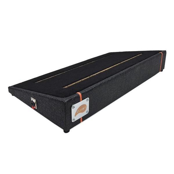 Ruach Black Tolex Pedal Board Size 3