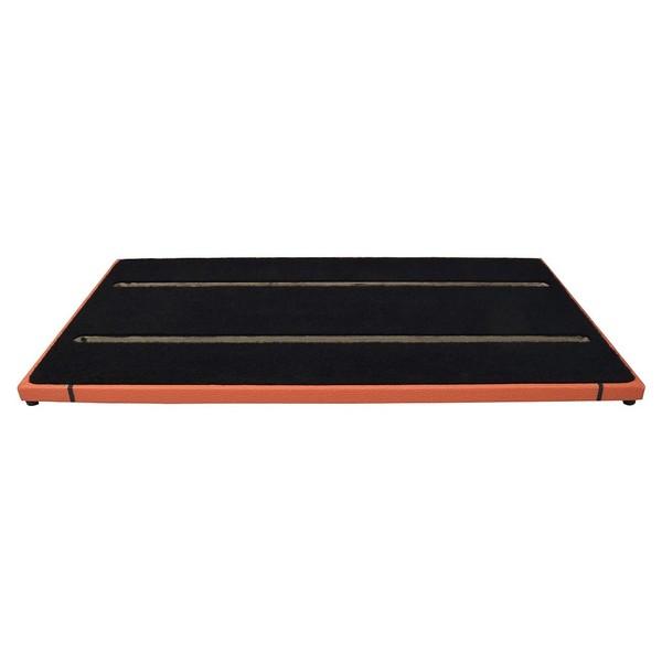 Ruach Orange Tolex 4 Pedal Board