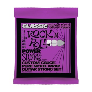 Ernie Ball Classic Power Slinky 2250 Guitar Strings 11-48