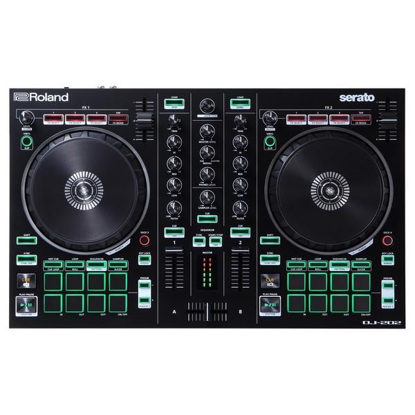 Roland DJ-202 DJ Controller - Top
