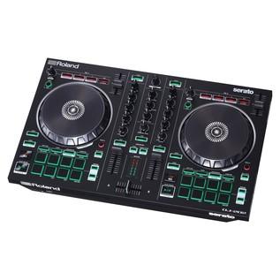 Roland DJ-202 Compact DJ Controller - Angled 2