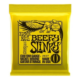 Ernie Ball Beefy Slinky 2627 Nickel Guitar Strings 11-54 front of pack