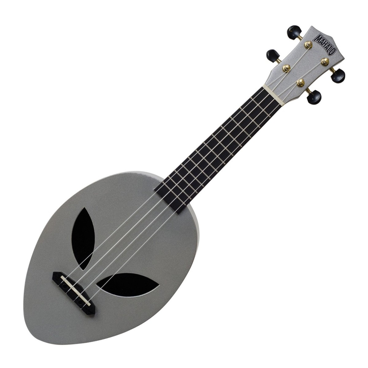 mahalo creative alien soprano ukulele silver at gear4music. Black Bedroom Furniture Sets. Home Design Ideas
