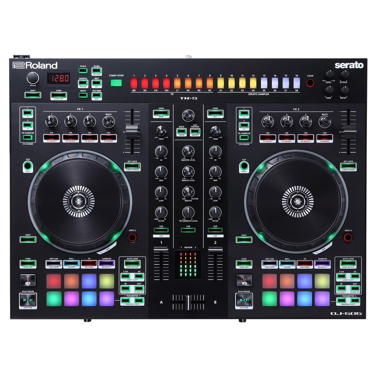 Roland Dj 505 Dj Controller At Gear4music