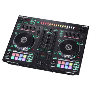 Roland DJ-505 2-Channel DJ Controller - Angled