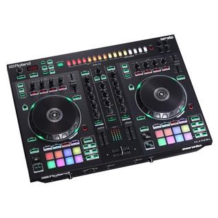 Roland DJ-505 Serato DJ Controller - Angled 2