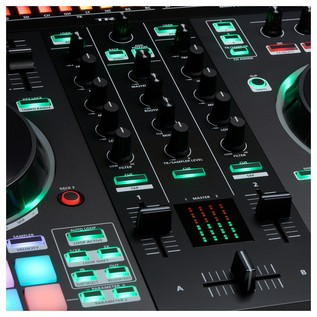 Roland DJ-505 2-Channel Serato Controller - Mixer Detail