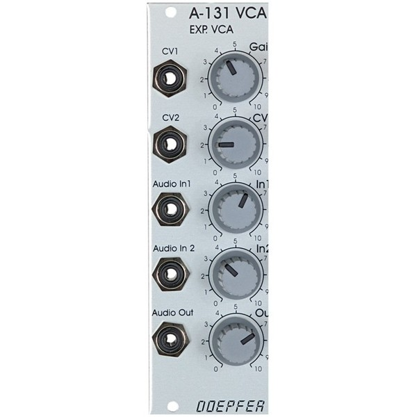 Doepfer A-131 VCA, Exponential 1