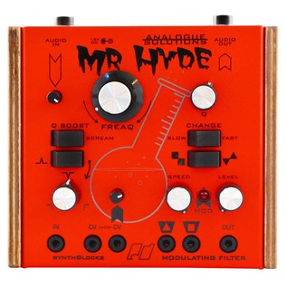 Analogue Solutions Mr Hyde Analogue Filter Effects Box - Top