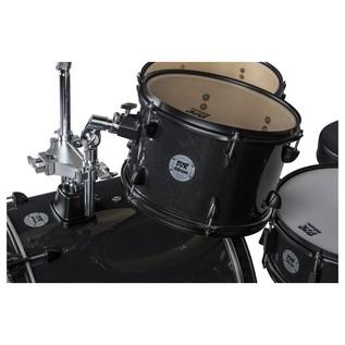 DDrum D2 Rock 4pc Drum Kit, Black Sparkle