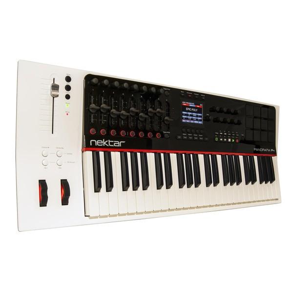 Nektar Panorama P4 MIDI Keyboard - Angled 2