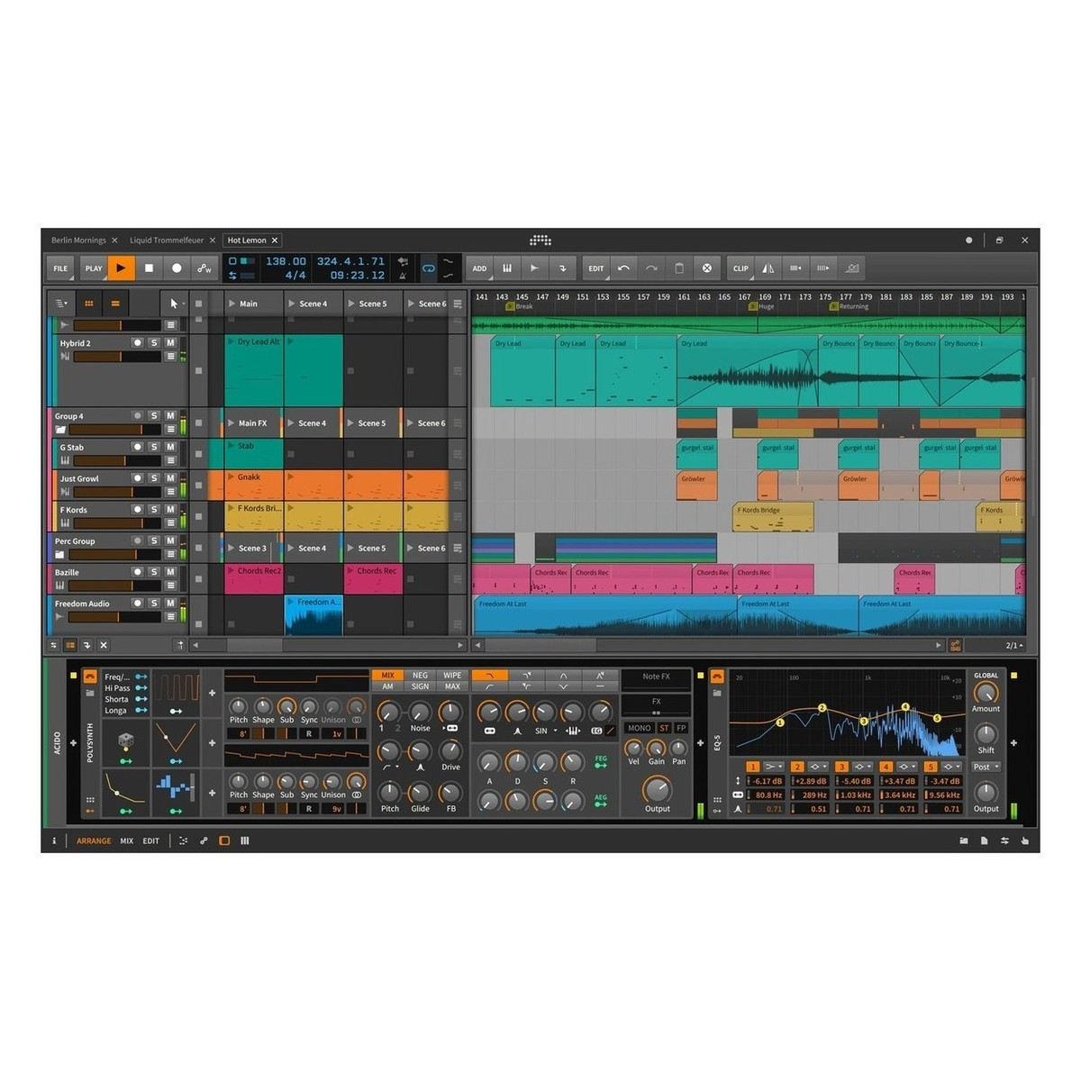 Nektar Panorama P1 USB MIDI Control Surface With Bitwig Studio 2 bei ...