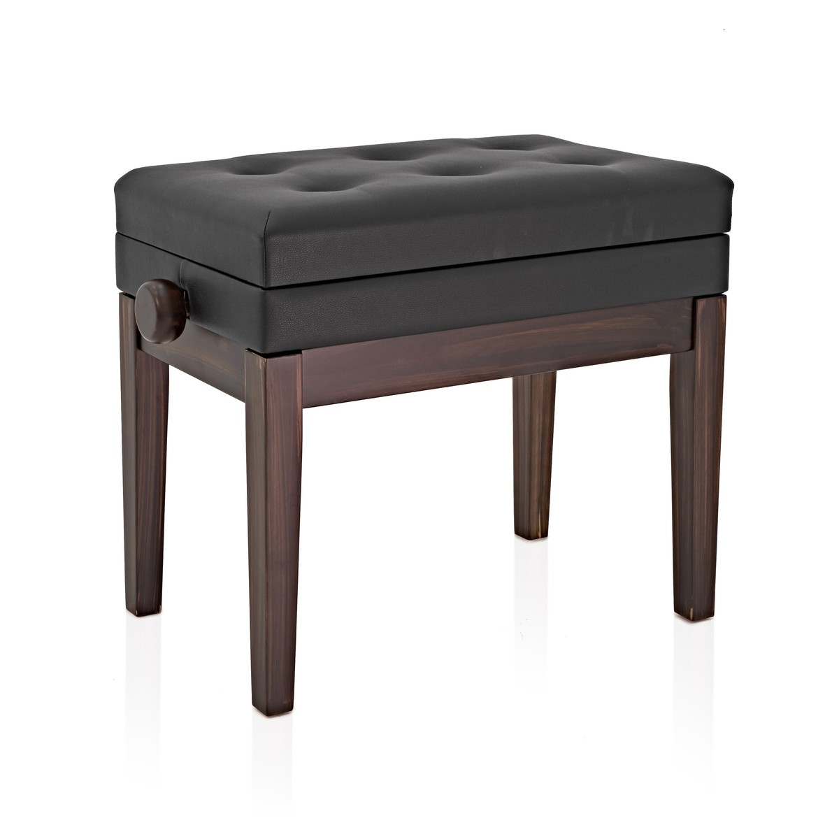 Deluxe Piano Stool With Storage By Gear4music Rw B