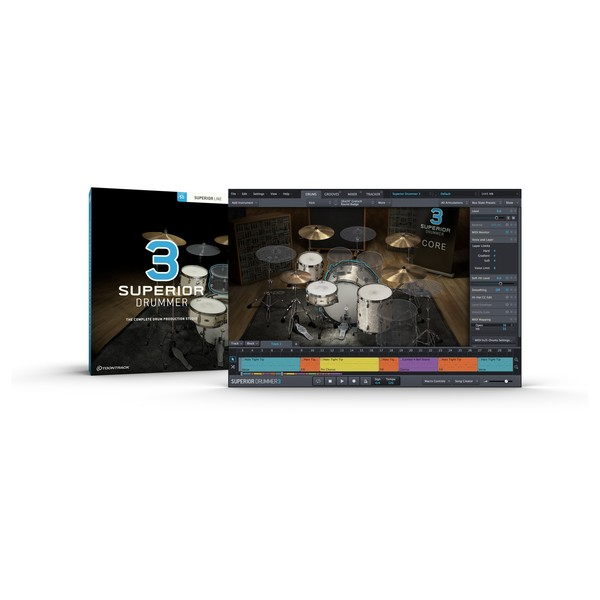 Toontrack Superior Drummer 3, Download Card MAIN BOX