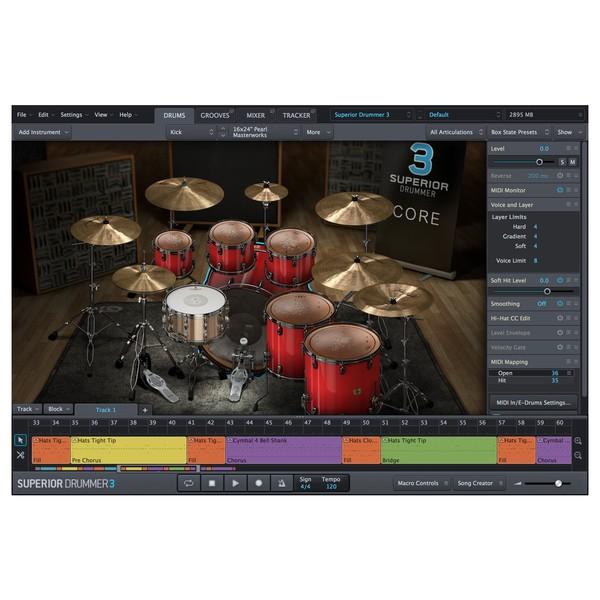 Superior Drummer 3 Pearl Master