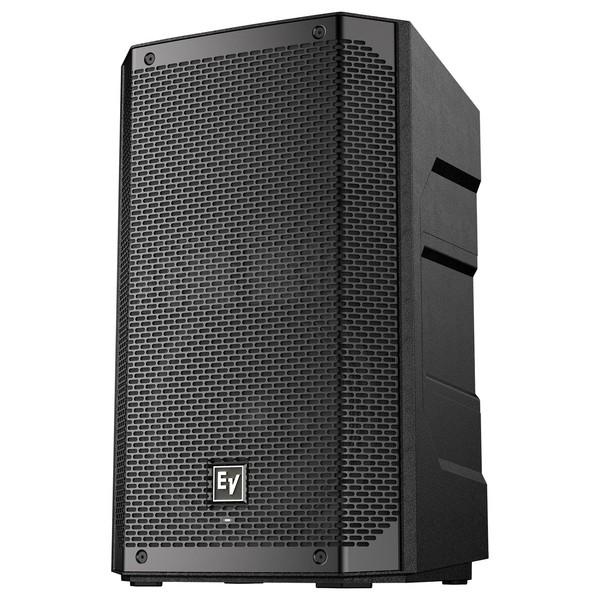Electro-Voice ELX200-10 10'' Passive Speaker, Black, Front Angled Left