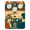 Orange  escapada conductor Overdrive Pedal