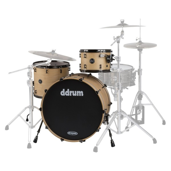 "DDrum Max Series 3pc 24"" Shell Pack, Satin Natural"