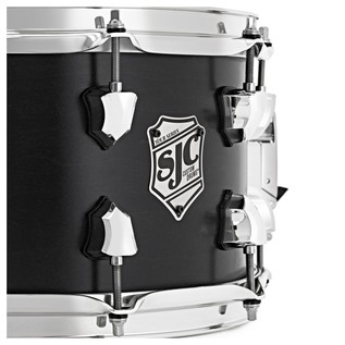SJC Drums Tour Series 14 x 7 Snare Drum, Black with Chrome HW