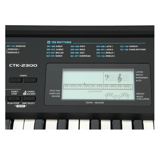 Casio CTK-2300 Screen