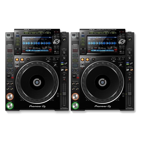 Pioneer CDJ-2000NXS2 Professional DJ Controller, Pair 1