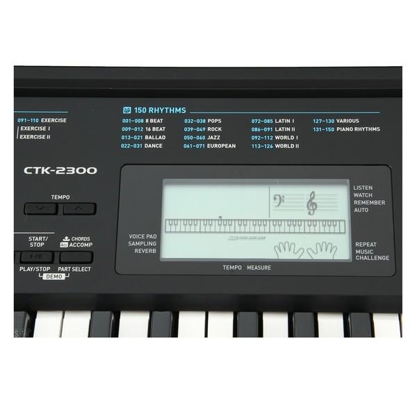 Casio CTK-2300 Interface