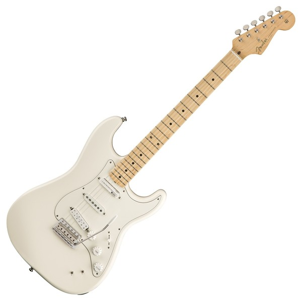 Fender Ed O'Brien Stratocaster Electric Guitar, Olympic White