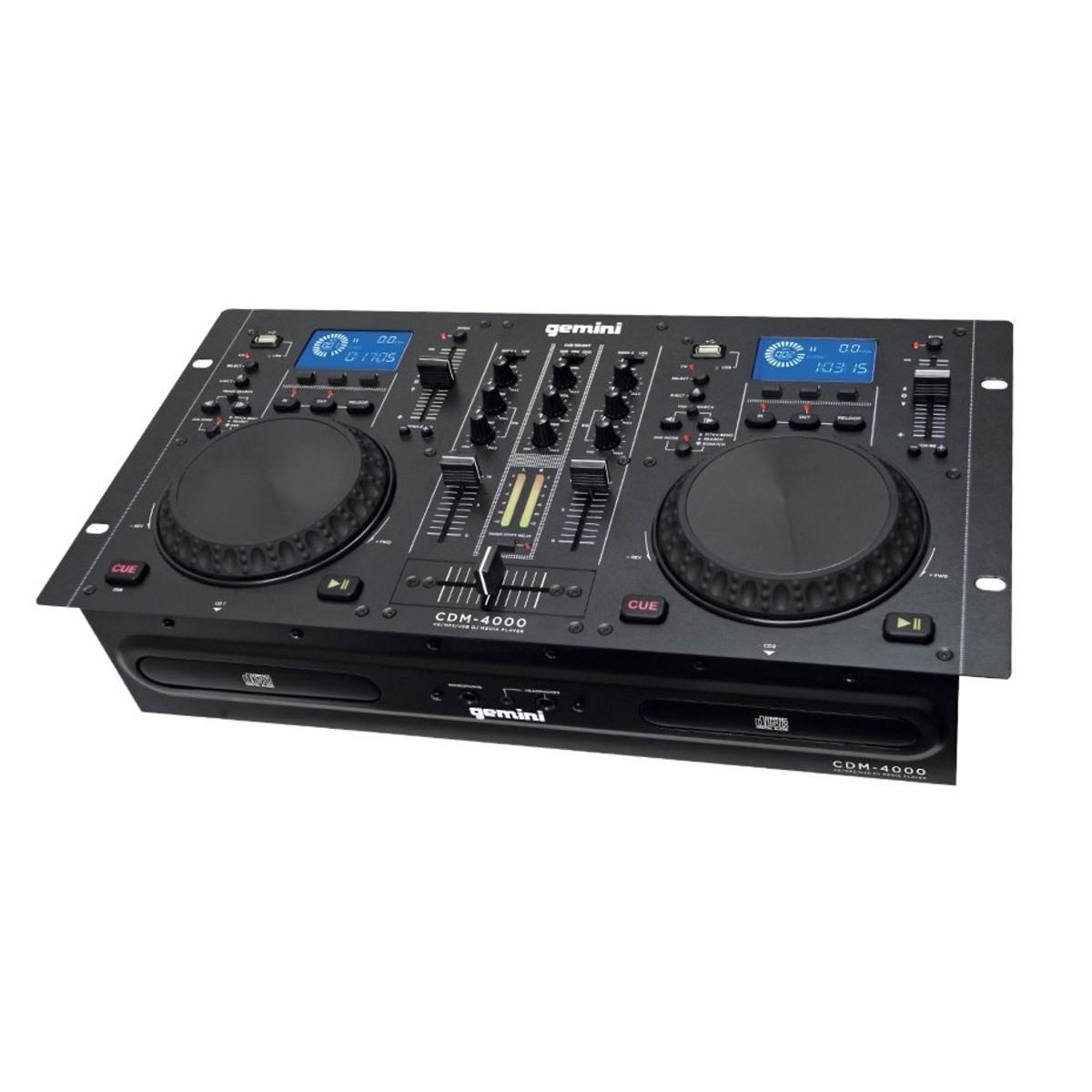 Gemini CDM-4000 CD Mixer Combo At Gear4music