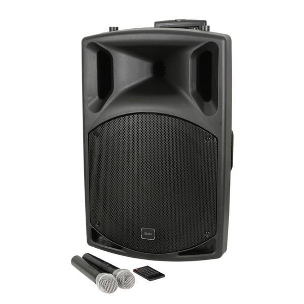 QTX QX15PA-Plus 15'' PA Speaker With UHF, USB/SD/FM & Bluetooth