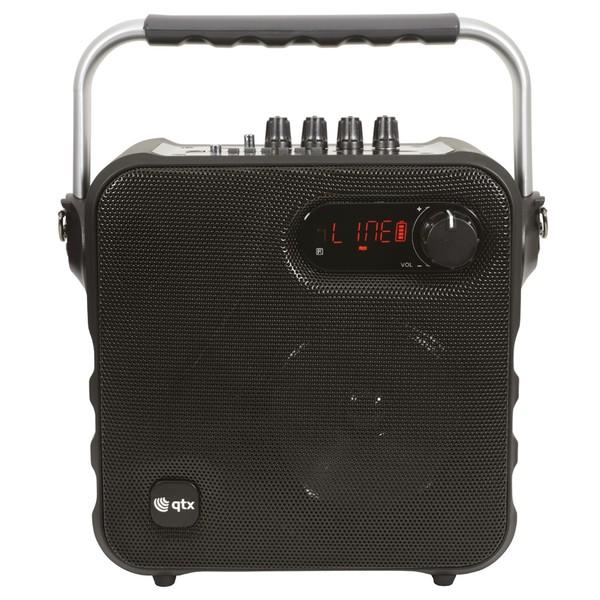 QTX Portable Bluetooth PA Speaker, Black