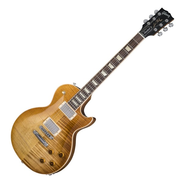 Gibson Les Paul Standard Electric Guitar, Mojave Burst (2018)